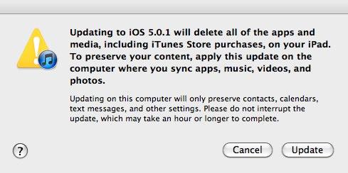 iPad Firmware Update