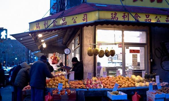 New York City's Chinatown