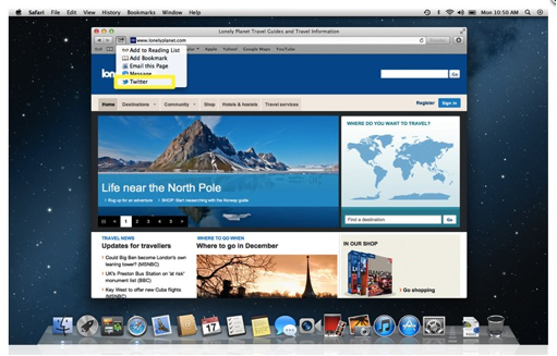 Mountain Lion MacOX10.8