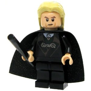 Lego Lucius Malfoy with Cape Wand